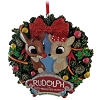 SeaWorld Ornament - Rudolph and Clarice Wreath