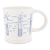 Disney Coffee Cup - Star Wars Lightsaber Blueprint