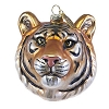 Busch Gardens Ornament - Bengal Tiger Head Blown Glass