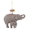 Busch Gardens Ornament - Realistic Elephant Mommy and Baby
