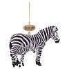 Busch Gardens Ornament - Realistic Zebra Mommy and Baby