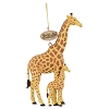 Busch Gardens Ornament - Realistic Giraffe Mommy and Baby