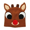 SeaWorld Hat - Rudolph the Red-Nosed Reindeer Beanie