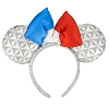 Disney Ears Headband - Epcot France Flag