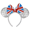 Disney Minnie Ears Headband - Epcot United Kingdom Flag