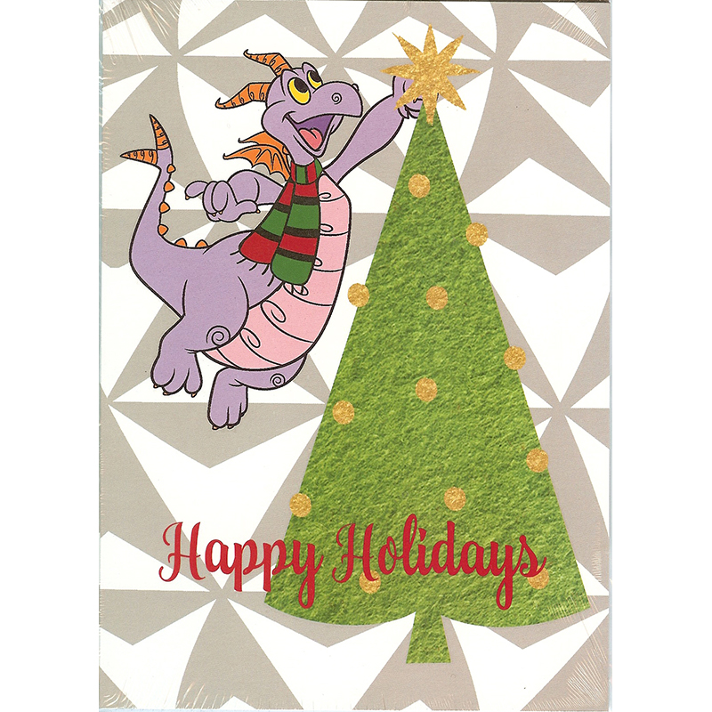 Disney Greeting Cards - Holiday Figment