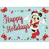 Disney Greeting Cards - Holiday Minnie Mouse