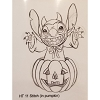 Disney Artist Sketch - Stitch - Stitch in Pumpkin - Halloween