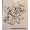 Disney Artist Sketch - Stitch - Stitch with Two Pumpkin - Halloween