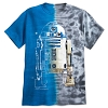 Disney Adult Shirt - Star Wars R2-D2 Split Tie-Dye