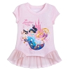 Disney Girl's Shirt - Disney Princess Top - The Adventure is On