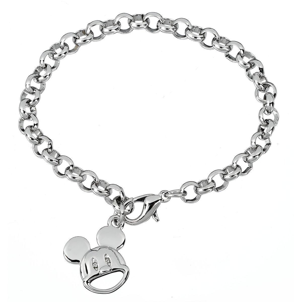 Disney Charm Bracelet - Mickey Mouse Face