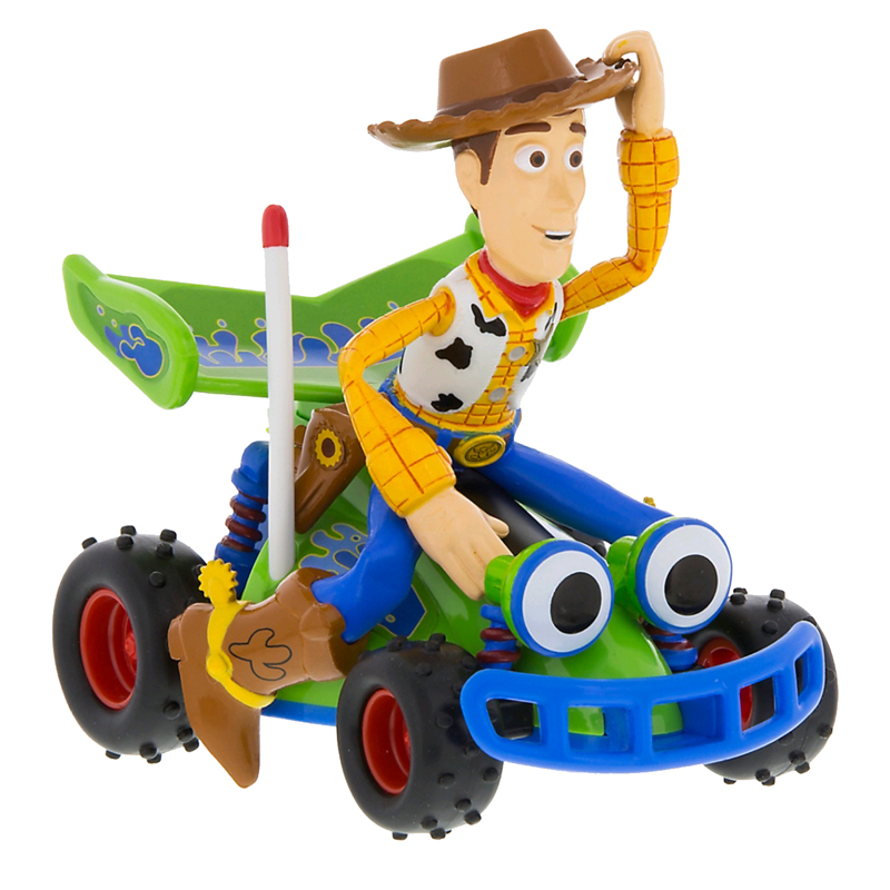 Disney Pullback Vehicle - Woody Riding RC - Toy Story