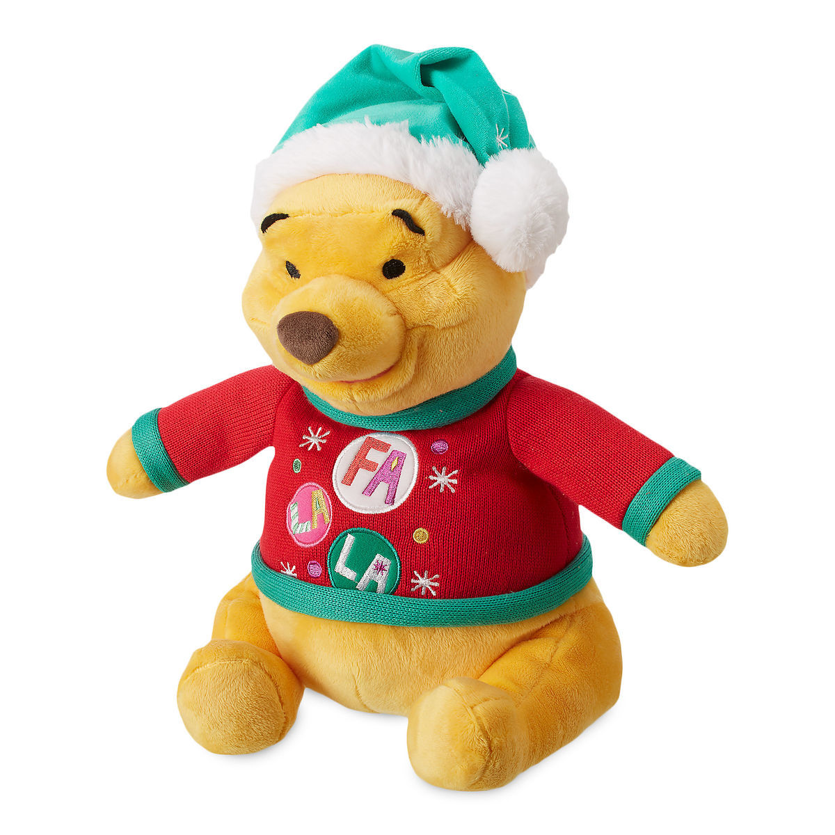 Disney Holiday Plush - Winnie The Pooh - Medium