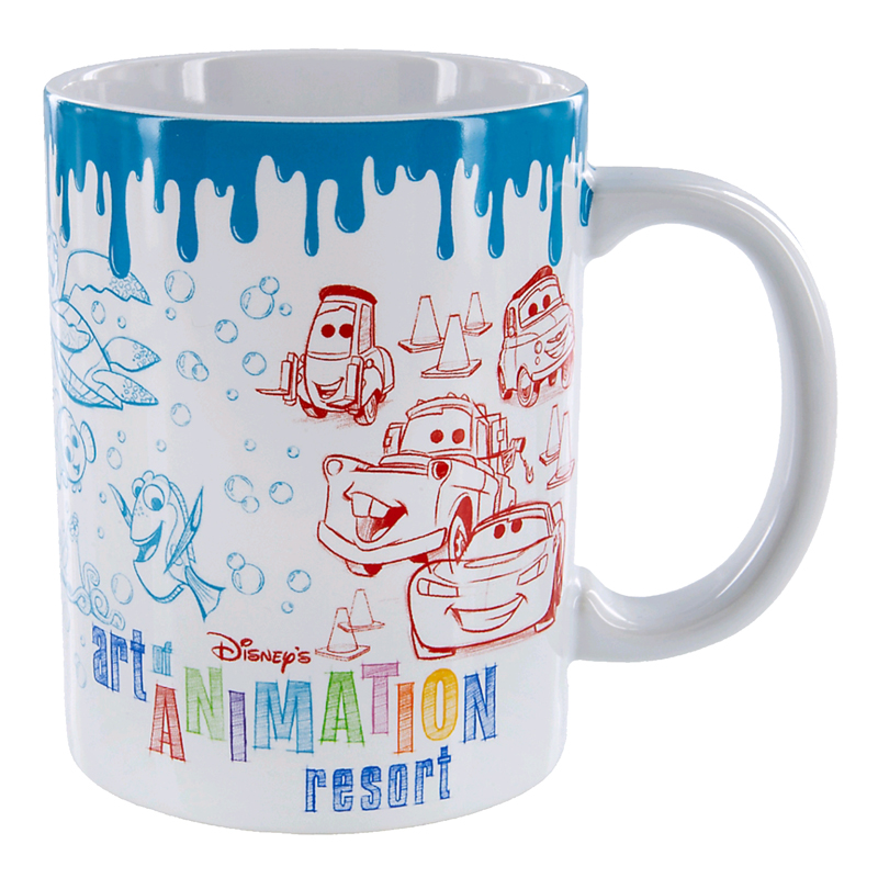 Disney Coffee Mug - Art Of Animation Resort Logo