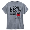 Disney Adult Shirt - Mickey Mouse - I Don't Do Matching Shirts
