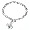 Disney Charm Bracelet - Mickey Mouse Face
