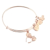 Disney Alex and Ani Bracelet - Rose Gold Headband
