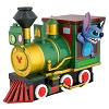Disney Pullback Vehicle - Stitch Riding the Train
