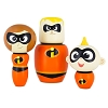 Disney Collectible Wooden Figure Set - Incredibles