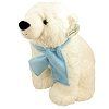 Busch Gardens Plush - Super Soft Polar Bear with Blue Scarf