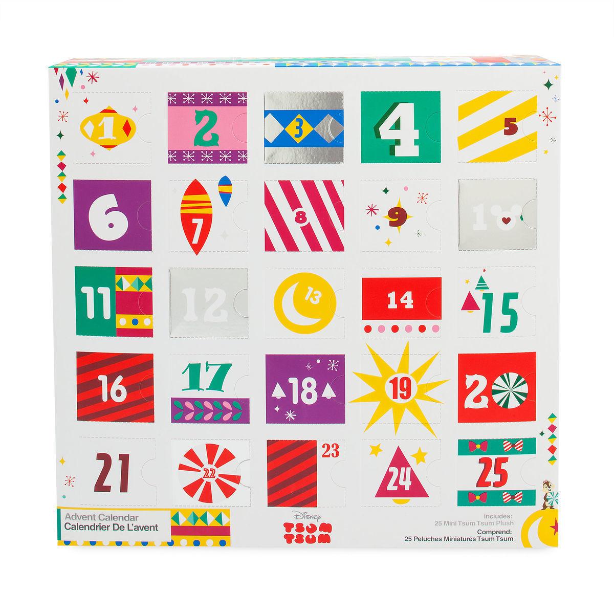 Tsum Tsum Advent Calendar 2020 Disney Advent Calendar
