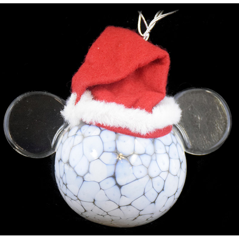Disney Ornament - Reinhard Herzog - Santa Mickey - Large