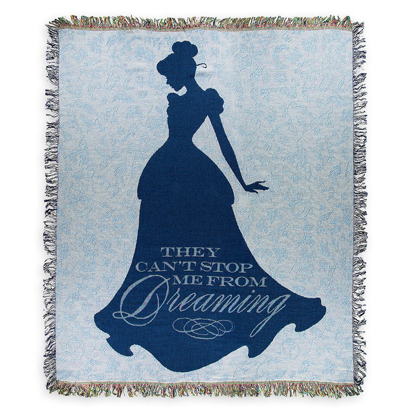 Disney Throw Blanket - Cinderella - Elegant