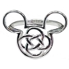 Disney Ring - Mickey Mouse Icon 4 Fold Celtic Knot By Kit Heath
