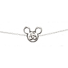 Disney Necklace - Mickey Mouse Icon 3 Fold Celtic Knot
