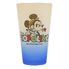 Disney Drink Glass Tumbler - EPCOT World Showcase - Italy - Topolino