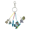 Disney Keychain - Disney World Park Icons with Mickey & Minnie