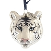 Busch Gardens Blown Glass Ornament - White Tiger