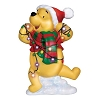 Disney Precious Moments Figurine - Pooh Tangled In Lights LED Plaque