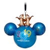 Disney Ornament - 2019 Disney World Logo - Chip N Dale