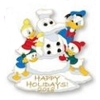 Disney Pin - Happy Holidays 2018 - Donald and Nephews
