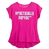 Disney Women's Shirt - Mary Poppins - Practically Perfect - Pink