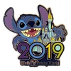 Disney Pin - 2019 Logo - Stitch