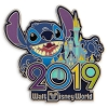 Disney Annual Pin - 2019 Stitch - Disney World