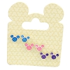 Disney Girls Earrings - Mickey Icons - 3 Colors Pink Purple Blue