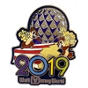 Disney Pin - 2019 Logo - Chip N Dale