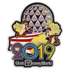 Disney Annual Pin - 2019 Chip n Dale - Disney World