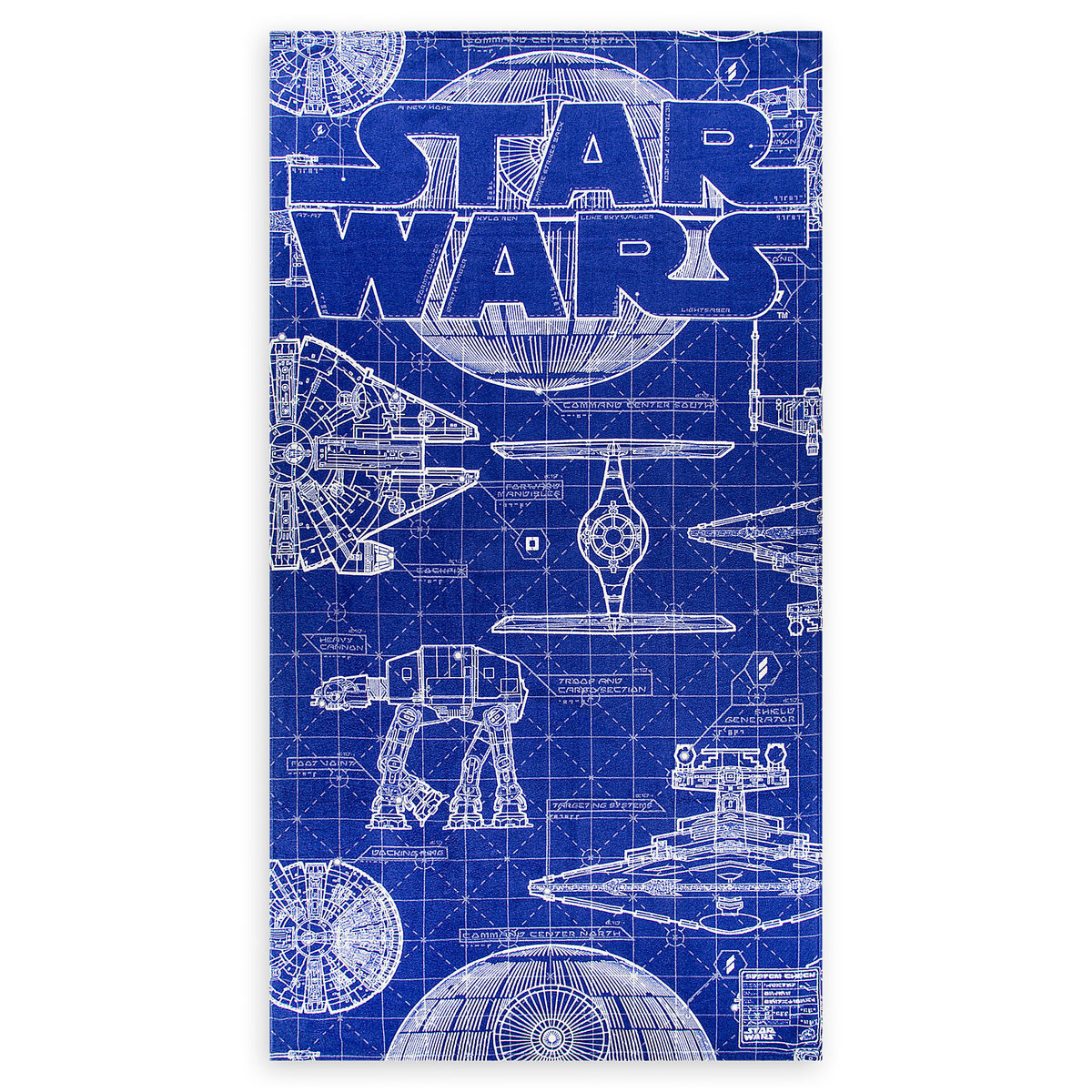 Geliefde Disney Beach Towel - Star Wars Blueprints @VK13