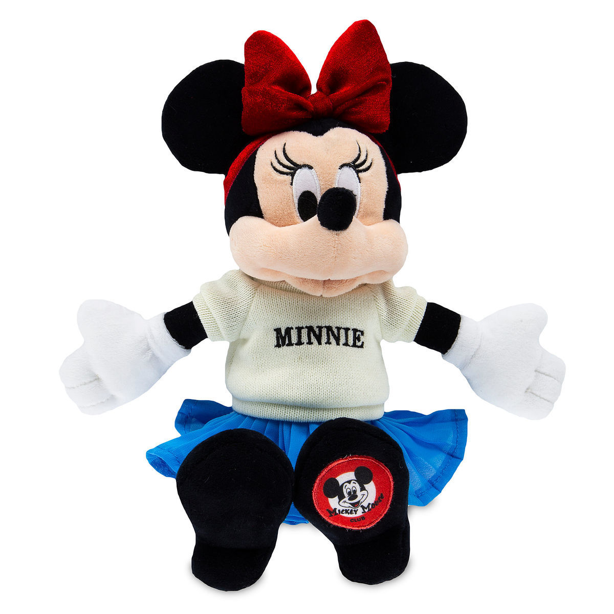 Disney Minnie Plush - The Mickey Mouse Club - 11''