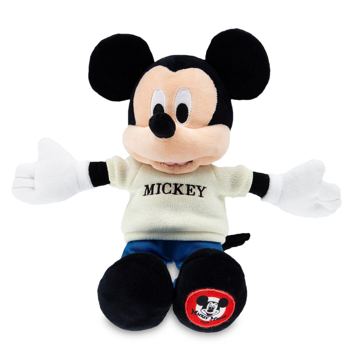 Disney Mickey Plush - The Mickey Mouse Club - 11''