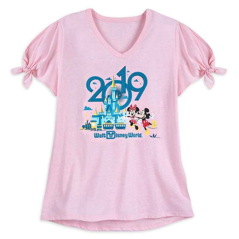 b33280be Add to My Lists. Disney Women's Shirt - 2019 Mickey and Minnie Mouse Tee