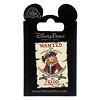 Disney Pirates of the Caribbean Pin - Red Headed Pirate WANTED POSTER