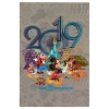 Disney Postcard - 2019 Mickey and Friends - Lenticular