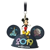 Disney Ear Hat Ornament - 2019 Mickey Light-Up - Walt Disney World