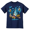 Disney Child Shirt - Mickey Mouse and Friends - 2019 Logo - Blue